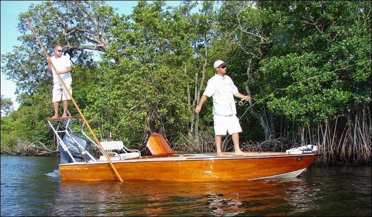 Custom Boat Designs & Builds, 16.5' Flats Fishing Boat